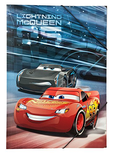Under cover caad0290 cartellina con ELASTICO A3, Disney Pixar Cars 3