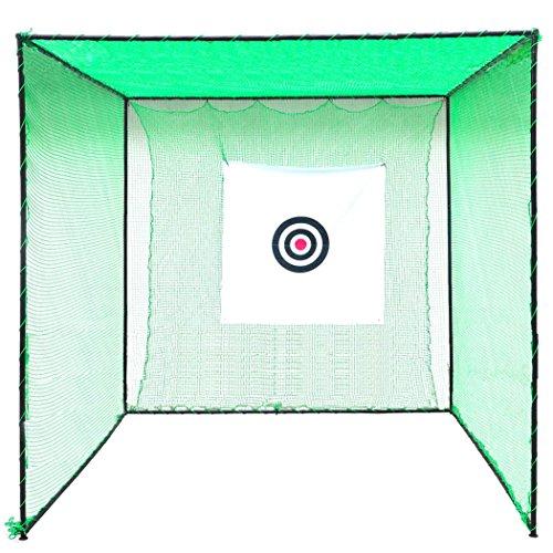 HLC GOLF CAGE 3M*3M*3M-Professional Golf Club Golf Practice Net Frame