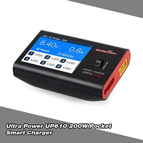 xMxDESiZ Ultra Power UP610 200W caricatore intelligente scaricatore di batteria per RC auto elicottero