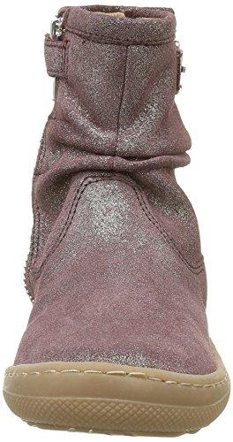 Shoo Pom Alias Basic, Bottes Classiques Fille Rose (Mascara Prune/Platine)