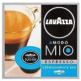 Lavazza A Modo Mio Espresso Dek Cremoso, Kaffee, Entkoffeiniert, Kaffeekapseln, Arabica, 16 Kapseln