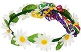 Widmann - AC0455  - Couronne hippie fleurie assortie