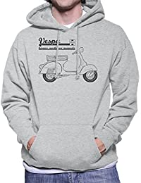 Haynes Owners Workshop Manual Vespa Men's Hooded Sweatshirt