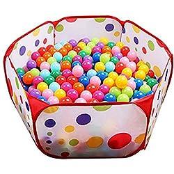 Wicemoon enfants Tente de jeu Parc pour enfants Tente Boule Pit Boule Boule Pit pour enfant avec sac de rangement Idéal pour l'intérieur et l'extérieur