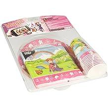 Papstar 86096Pack de Fête, frais fibre de carton et Tissue Multicolore