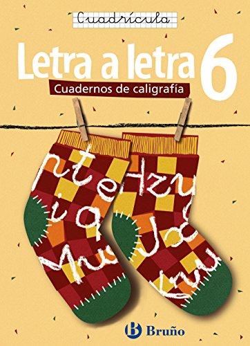 Caligrafía Letra a letra Cuadrícula 6 (Castellano - Material Complementario - Caligrafía Letra A Letra) - 9788421639771