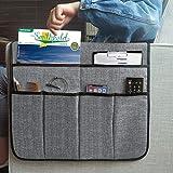 Reposabrazos para sofá o sillón, Impermeable, Extra Grande, Duradero, Suave, Organizador para teléfono,...
