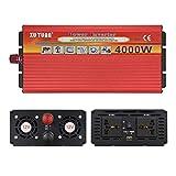 CxIACom Auto Leistung Inverter 4000W Kfz Kit Adapter Transformator Zubehör 3