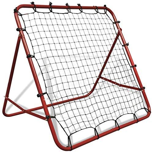 Irfora rete elastica da calcio con rimbalzo 100 x 100 cm regolabile