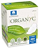 #8: Organyc 100% Cotton Ultrathin Sanitary Pads Moderate Flow, 10 pads