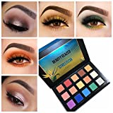 15 Colors Makeup Eyeshadow Palette Shimmer Matte Highly Pigmented Waterproof Smoky Cosmetic STRELIZIA Maquiagem Eye Shadows