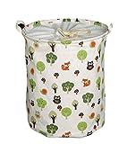 Aisi faltbar Wäschekorb Aufbewahrungskorb Motiven Kinderspielzeug aufbewahrung Spielzeugkiste Aufbewahrungsbox Sortierbox Faltbox Storage Lösung für die Organisation der Toys und Wäsche
