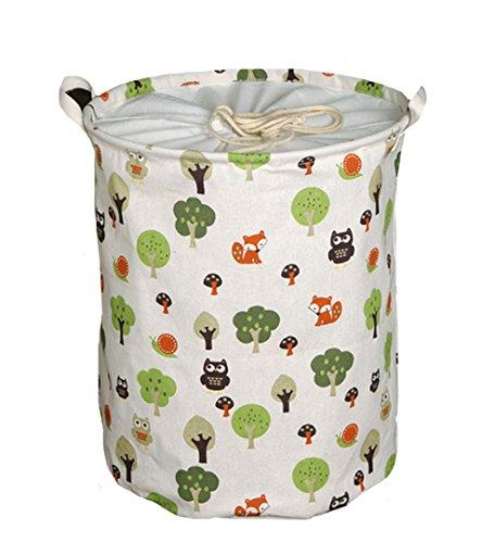 Aisi faltbar Wäschekorb Aufbewahrungskorb Motiven Kinderspielzeug aufbewahrung Spielzeugkiste Aufbewahrungsbox Sortierbox Faltbox Storage Lösung für die Organisation der Toys und Wäsche -