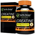 Creatine - Creatine Monohydrate with Magnesium, Zinc, Vitamin B6 - 90 Capsules by Earths Design from Earths Design