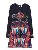 Desigual Mädchen Kleid Vest_Flaubert, Blau (Navy 5000), 164 (Herstellergröße: 13/14)