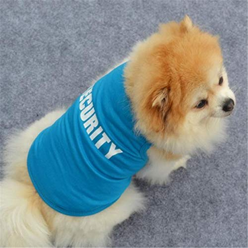 SUMTTER Magliette Cucciolo Veste in Cotone Vestitini Cani Piccoli T-Shirt Cane Taglia Piccola Costume Abbigliamento Cane e Gatto Autunno