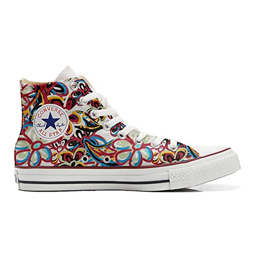 converse-all-star-personnalise-chaussures-artisanat-produit-abstract-motif-fleuri-multicolore-multic