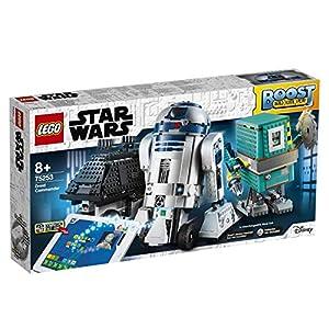LEGO Star Wars Boost - Comandante Droide, Juguete de Construcción con 3 Robots Controlados por App, con R2-D2, Incluye sensor de distancia, motor y bluetooth, Set robótico programable (75253)