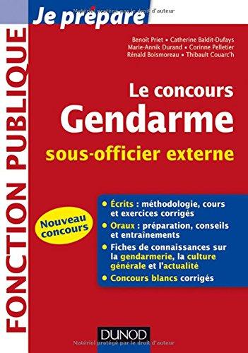Le concours Gendarme sous-officier externe