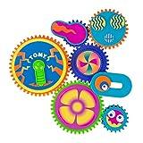 TOMY Gearation Zahnrad Magnete, Spielend motorische Fähigkeiten trainieren, Für Kinder ab 3 Jahren