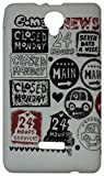 Zeztee Printed Soft TPU Mobile Back Cover for Micromax Canvas Fun A76 ZT0119 available at Amazon for Rs.149