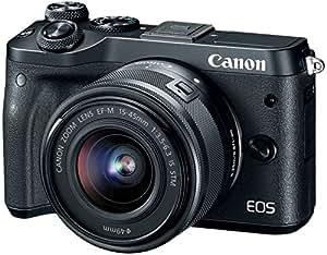 Canon EOS M6 24.2 MP DSLR (Black)