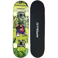 Apollo Skateboard para niños Gorilla Tom, Skateboard pequeño para niños, 61cm de Largo …