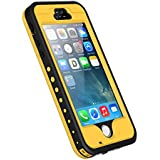 Funda Impermeable para iPhone 5S, iThrough™ Funda Impermeable para iPhone 5, Funda a Prueba de Polvo, de Nieve y de Golpe con Protector, Funda Protectora de Cubierta Para iPhone 5S, iPhone 5 …