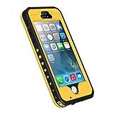 iPhone 5S SE Hülle,iThrough® Wasserdichte Schutzhülle iPhone 5    Beschreibung:  -iThrough® diese Schutzhülle ist besonders für iPhone 5S/SE/5.  -Wasserdicht bis zu 6.6Fuß Tiefe, perfekten Schutz vor Wasser, Schnee, Stoß, Staub und die sonstigen Fall...