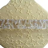 LYNCH Más de rodillos en forma de estrella botones Pin de balanceo de grabación en relieve de la torta de la pasta de la pasta de azúcar herramientas de cocina