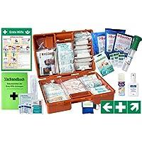 Erste-Hilfe-Koffer Gastro Pro M5+ für Betriebe Din/EN 13169 inkl. Augenspülung + Brandgel + detektierbare Pflaster... preisvergleich bei billige-tabletten.eu