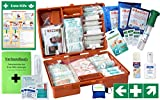 Erste-Hilfe-Koffer Gastro Pro M5+ für Betriebe Din/EN 13169 inkl. Augenspülung...
