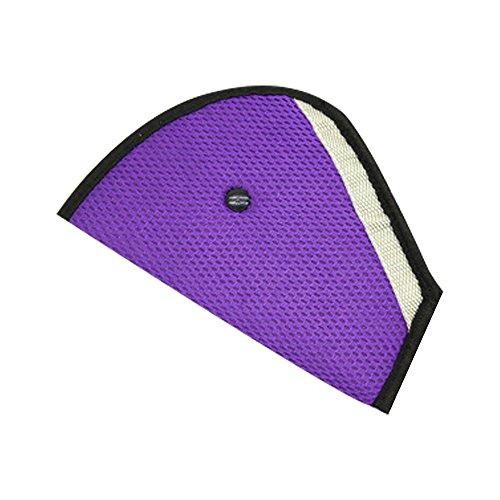 Newin Star Armband Triangle Kissen Auto Safety Seat Adjuster Gürtel der Sicherheit für Auto 1Stk. Violett -