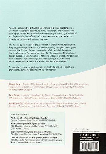 Functional Remediation for Bipolar Disorder