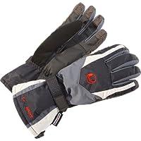 Ultrasport Touchscreen - Guantes de esquí para hombre, color gris, talla M