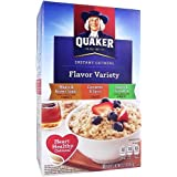 Quaker Instant Oatmeal Flavor Variety 15.1oz (430g)