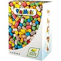 Loick Biowertstoff PlayMais - Caja de material para moldear en colores variados tamaño grande (aprox. 700 unidades) [Importado de Alemania]