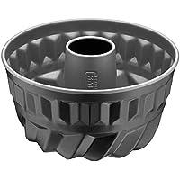 Kaiser Inspiration Bund-/ Gugelhupfform Mini, Ø 16 cm, antihaftbeschichtet, Backform für 1/2 Rezeptportion, gleichmäßige Bräunung, schwarz