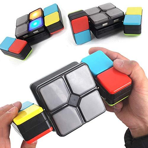 Youlala Musik-Zauberwürfel,Elektronische Rubik Cube Kinder Puzzle Spiel Neuheit Spielzeug für Jugendliche Kinder Geschenke Dekompression Spielzeug für Erwachsene