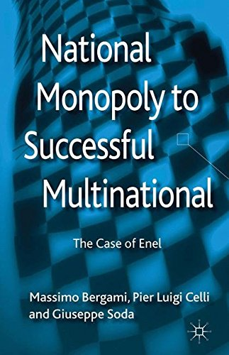 National Monopoly to Successful Multinational: the case of Enel