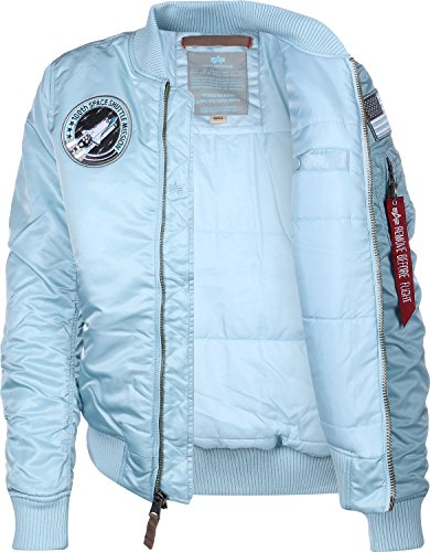 Alpha Industries Damen Bomberjacke Air Blue