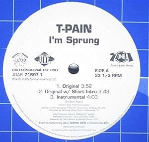 I'm Sprung [Vinyl LP]