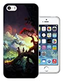 003054 - Anime manga fantasy world wanderers Design iphone SE / iphone 5 5S Fashion Trend Protecteur Coque Gel Rubber Silicone protection Case Coque