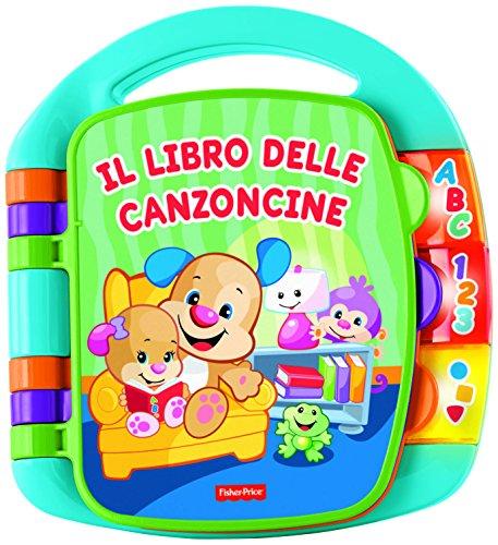 fisher-price-cdh49-il-libro-delle-canzoncine