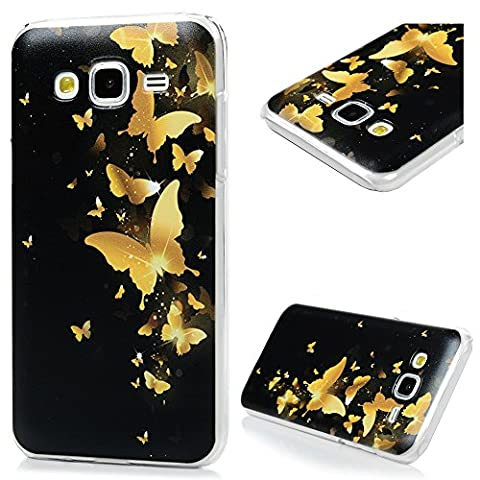 J5 Case ,Galaxy J5 Case (2015 Model) - Mavis's Diary Fancy Lovely Colorful Print Patterns Ultra-thin Slim Fit Hard PC Light Weight Protective Cover for Samsung Galaxy J5 (Not for 2nd Gen. 2016 Model)