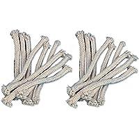 iapyx® timtina Ersatzdochte für Gartenfackel Bambusfackel Fackel Öllampe (18 Stück)