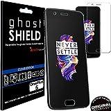 TECHGEAR OnePlus 5 [ghostSHIELD] Film Protecteur d'Écran en TPU avec Protection Totale de l'Écran, y Compris les Bords Incurvés [Protection 3D Bords Incurvés] - pour OnePlus 5