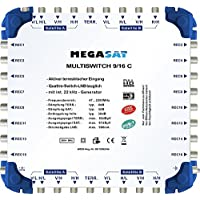 Megasat 0600193–Commutatore 9/16C Argento prezzi su tvhomecinemaprezzi.eu