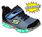 Skechers Jungen Flex-Charge-Ronix Sneaker, Schwarz (Black/royal), 30 EU
