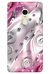 100 Degree Celsius Back Cover for Redmi note 4 (Designer Printed Multicolor)